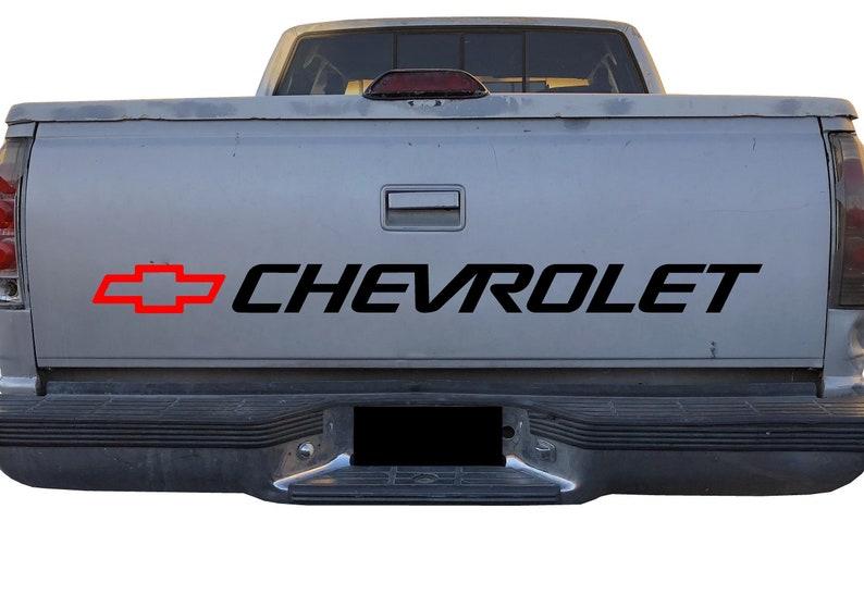Chevy Bowtie Bed Decal Chevrolet Logo for Trucks Silverado - Tahoe -  Colorado Vehicles