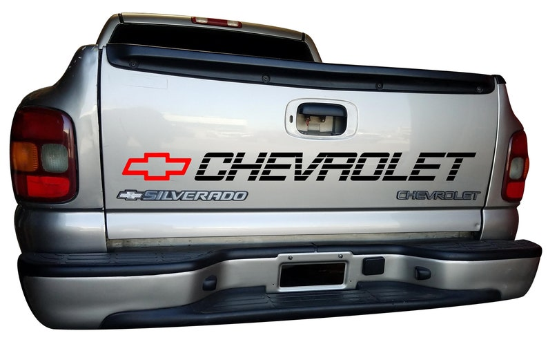 d3db14994c Tailgate CHEVROLET Decal Window Vinyl Graphics 1500 2500 Chevy