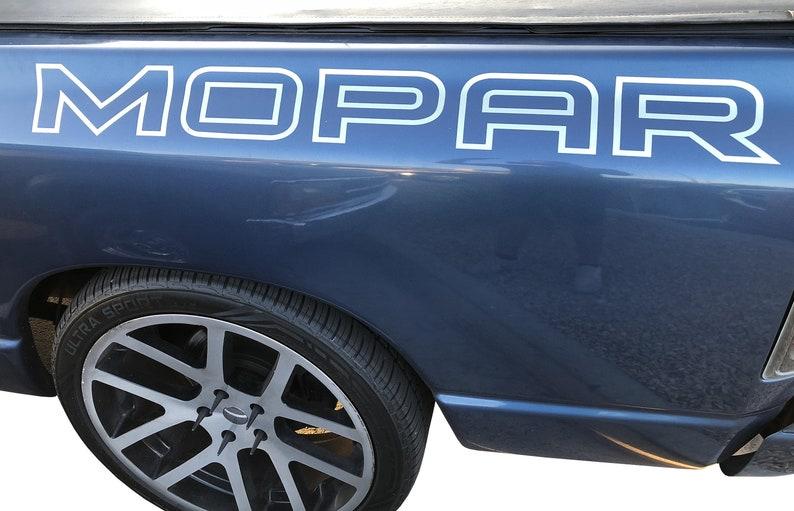 d78fc7e18d MOPAR Decal Ram RT Side Bed Vinyl Graphics 4x4 Dodge Trucks