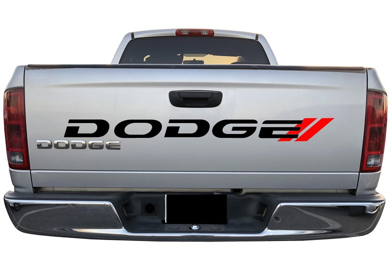 d00b491434 RAM RT Tailgate Vinyl Graphics DODGE Decal For Dodge Vehicles