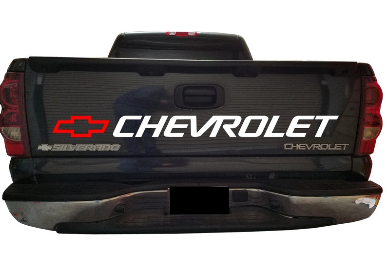 c1850257b9 CHEVY Tailgate bed Decal CHEVROLET 1500 Window Sticker
