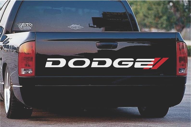 632a2c7f6d Dodge Bed Decal RAM RT 1500 2500 Mopar Trucks Dodge Dakota