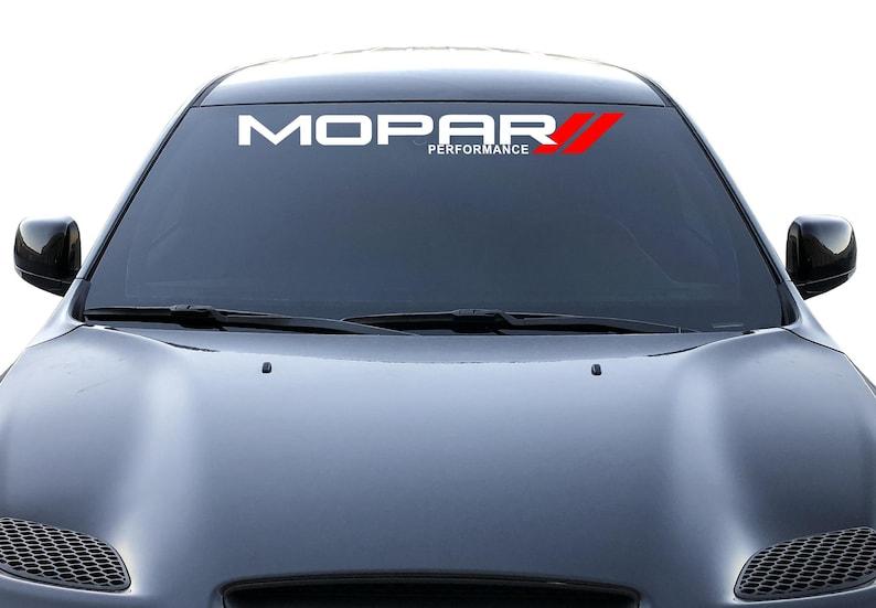 56ca14ec68 Mopar Decal Chrysler Dodge Ram Window Vinyl Sticker