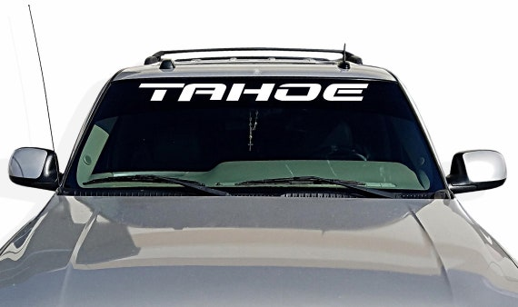 2ef3b4f4e5 Window Decal for CHEVY TAHOE Trucks vinyl sticker free