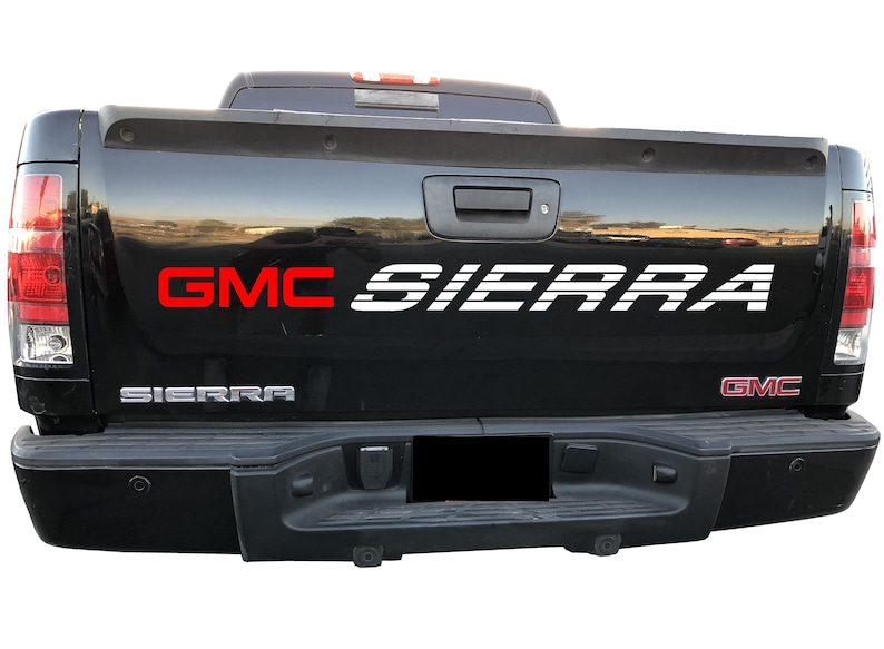 9a89be0855 GMC SIERRA Bed   Window Graphics Vinyl Graphics