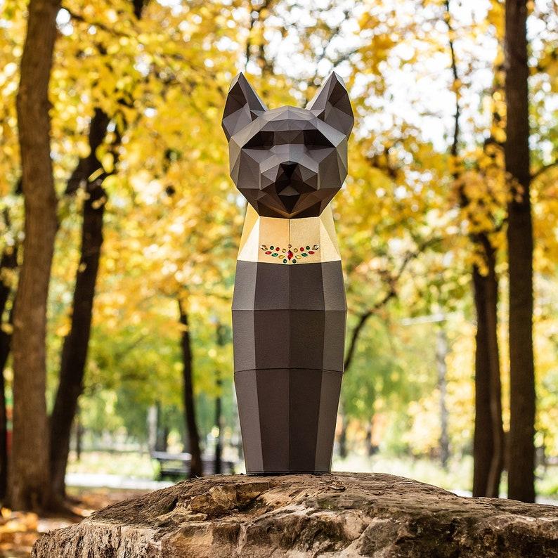 Gift Box For Wine Cat, Papercraft, PDF Template,DIY, Pepakura Cat, Paper  Sculpture, Home Gift Box, Pepakura, Handmade