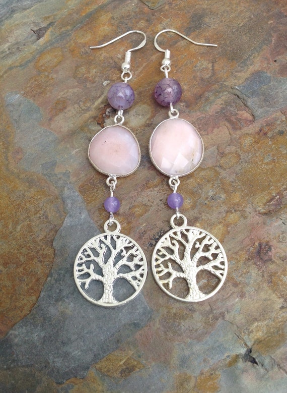 10x tree of Life Vintage Bead Charms Pendants DIY Mother/'s Day Jewelry Craft