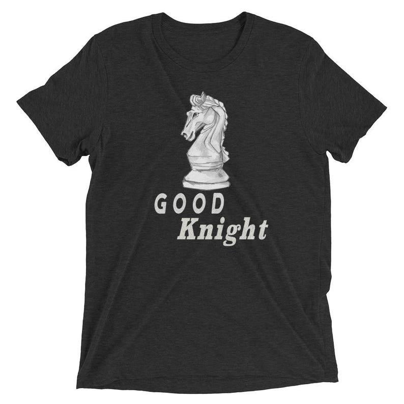 49529131 Chess T-Shirt Men's Short Sleeve T-Shirt Knight | Etsy
