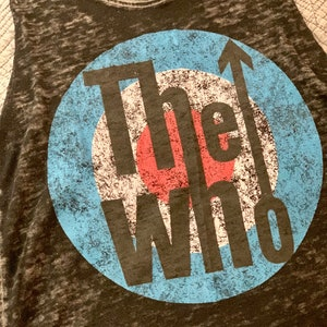 The Who Band Pet Tee One of a Kind