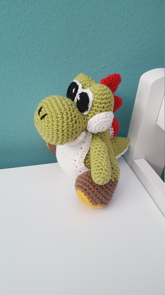 Free pattern on Ravelry called Mini Yoshi Friend by Mary Smith ... | 1014x570