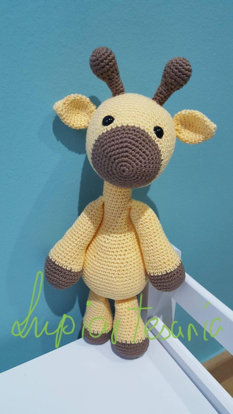 Pupazzo Di Neve Alluncinetto Giraffa Giraffa Baby Doll Etsy