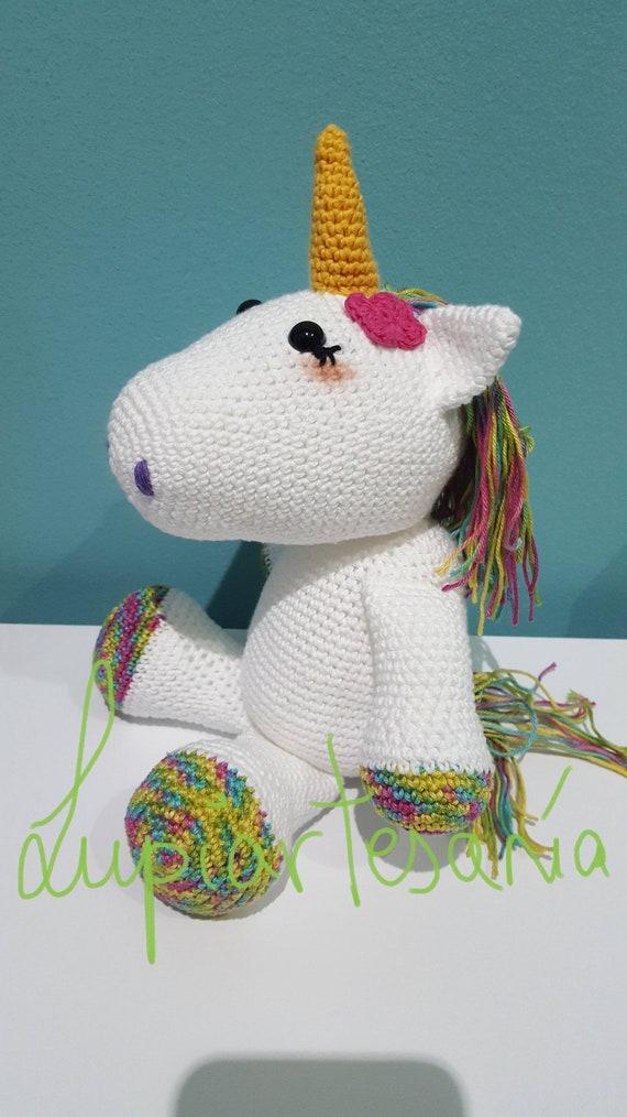 Amigurumi Unicornio || 2da parte Cabeza, Flores, Cabello y Falda ... | 1014x570