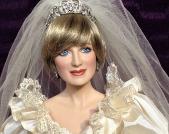 Wedding doll Princess Diana Franklin Mint