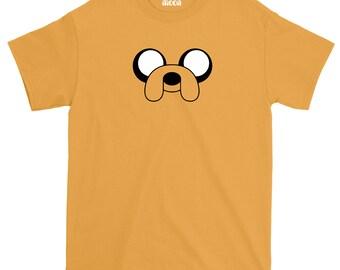 Jake The Dog T-Shirt - Adventure Time Tee - Cartoon Tshirt 793b6fadf