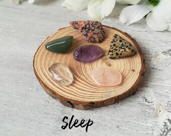 Crystal Bag For Sleep   Sleep Crystals   Sleep Aid   Insomnia Aid   Healing Crystals   Crystal Kit   Crystal Gifts   Crystal Tumblestones