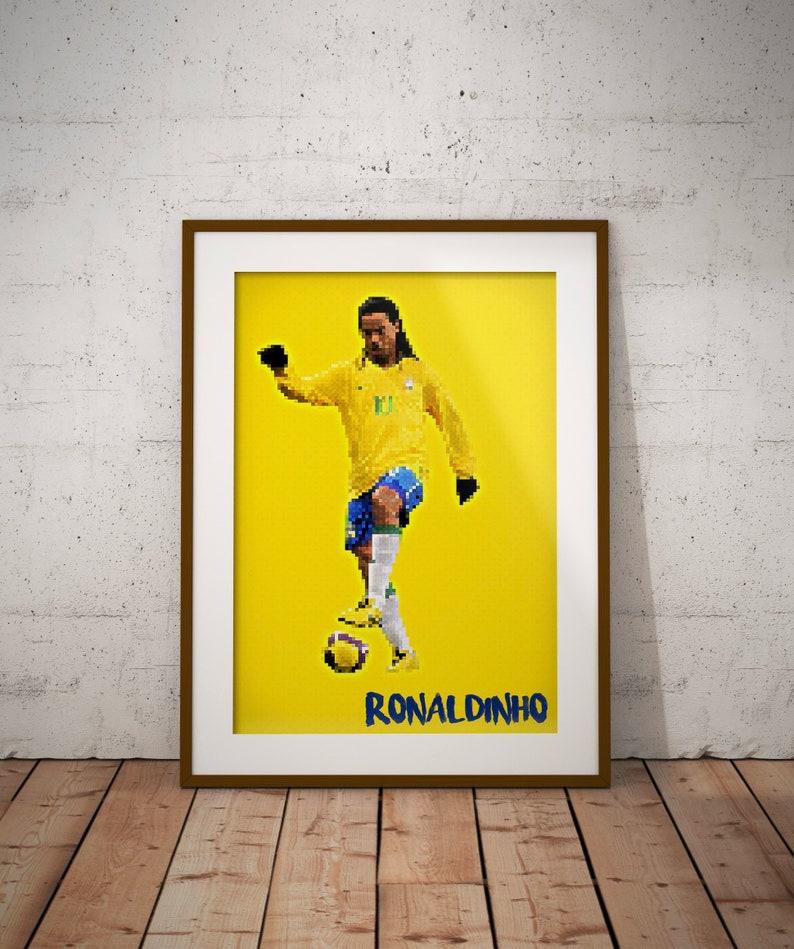 Fc Barcelona Pixel Art Soccer