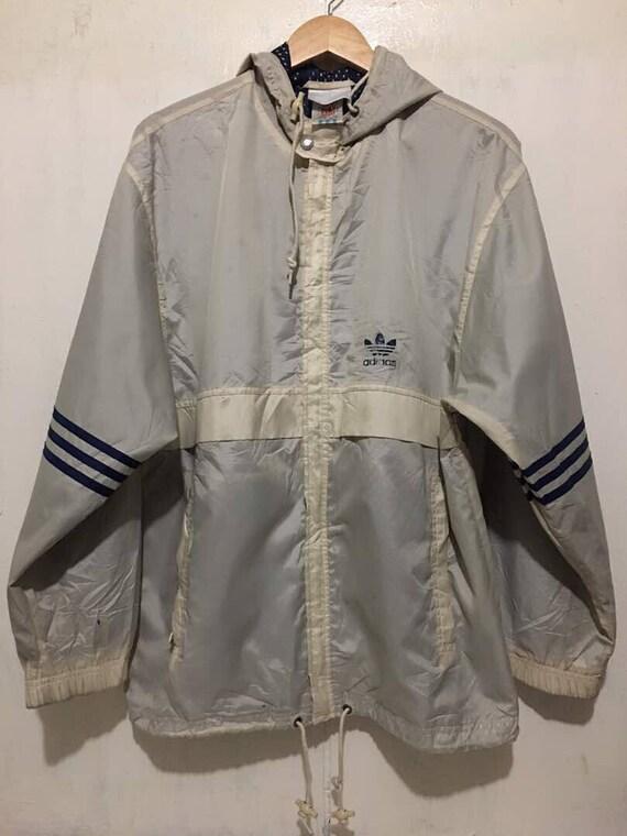 d70485d9ae5a FREE SHIPPING RARE Vintage adidas windbreaker Jacket