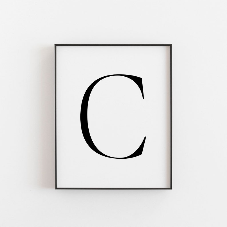 graphic relating to Letter C Printable identified as Letter C, C Printable, Letter Printable, Letter C Poster, Scandinavian Print, Nordic Print, Scandi Design Print, Minimalist Artwork, Wall Decor