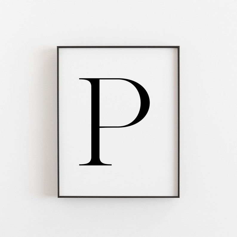graphic relating to Printable Letter P identified as Letter P, P Printable, Letter Printable, Letter P Poster, Scandinavian Print, Nordic Print, Scandi Design and style Print, Minimalist Artwork, Wall Decor