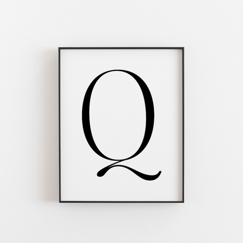image relating to Letter Q Printable named Letter Q, Q Printable, Letter Printable, Letter Q Poster, Scandinavian Print, Nordic Print, Scandi Structure Print, Minimalist Artwork, Wall Decor