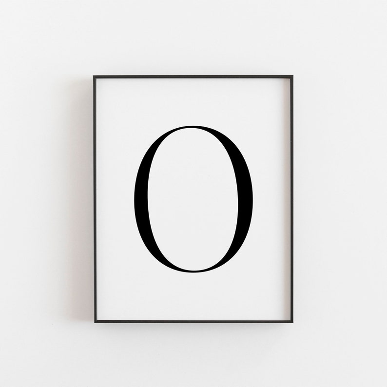 picture regarding Printable Letter O referred to as Letter O, O Printable, Letter Printable, Letter O Poster, Scandinavian Print, Nordic Print, Scandi Layout Print, Minimalist Artwork, Wall Decor