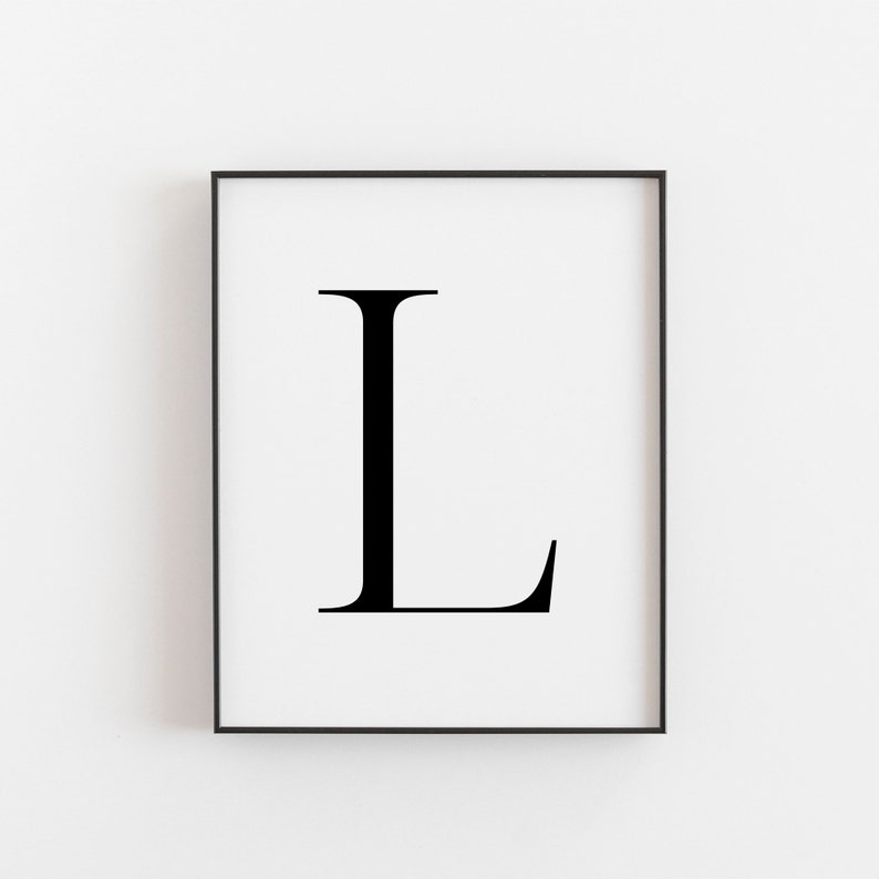 photo about Letter L Printable named Printable Wall Artwork, Letter L, Downloadable Artwork, Printable Artwork, Wall Artwork Prints, Nursery Decor, L Printable, Letter L Poster, Bed room Decor