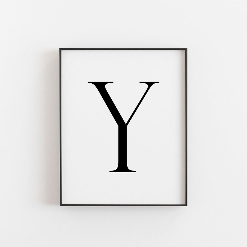 photograph regarding Printable Letter Y referred to as Letter Y, Y Printable, Letter Printable, Letter Y Poster, Scandinavian Print, Nordic Print, Scandi Style and design Print, Minimalist Artwork, Wall Decor