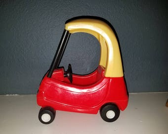 Vintage Little Tikes Cozy Coupe Car for the Dollhouse