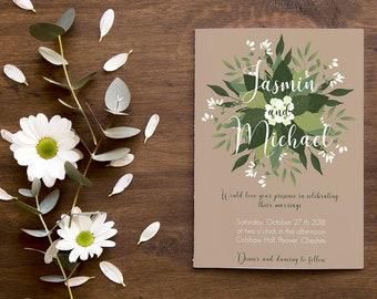 Bespoke Invitation - 100% Original & Custom design to your requirements