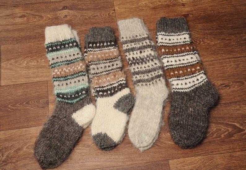 505f7d70d Woolen knee socks hand knitted socks warm high socks hand