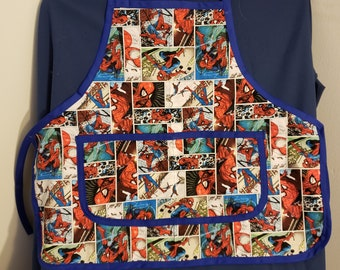 Spiderman Toddlers Apron