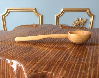 reclaimed wood pine spoon
