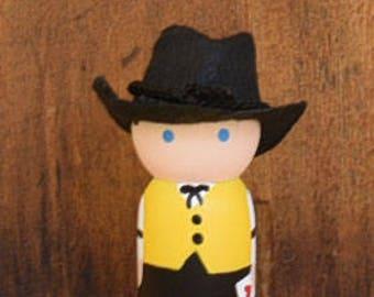 Card Dealer Peg Doll