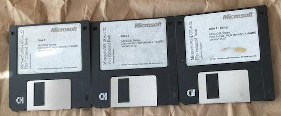 disquettes dos 6.22