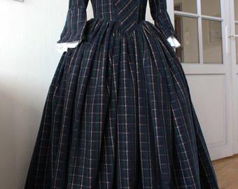 Outlander inspired Tartan dress