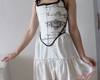 Corset printed patterns