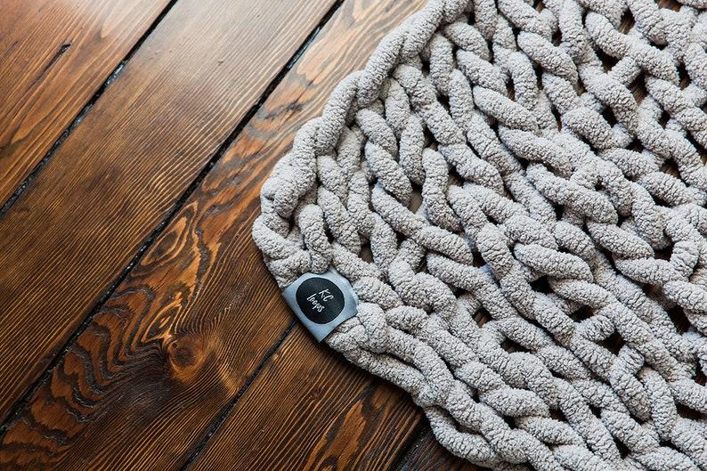 Handmade Polyester 25X30 BabyLap Blanket Jumbo Vegan Yarn Baby Soft Home Decor Chenille Blanket Chunky Knit Blanket Warm Soft