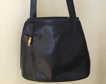 bag Longchamp Paris, Reed, very good vintage condition, leather, authentic,  brand logo, worn shoulder, shabby chic, gift ac23d0ff08