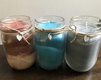 Handmade Mason Jar Candle, 18oz