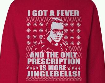 Santa Jaws Ugly Christmas Sweater C Scott Spencer Designs