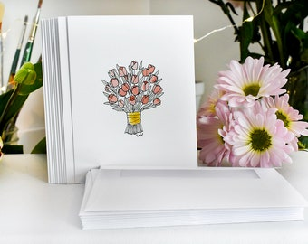 Tulip Blank Cards with Envelopes