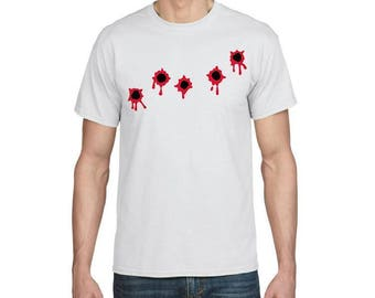 Bullet Wounds - Funny T-shirt