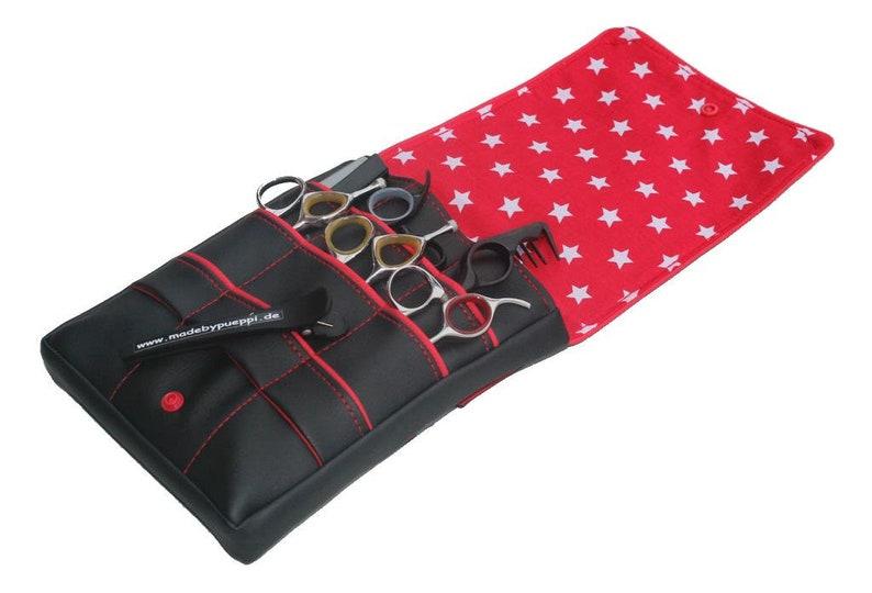 Hairdresser/'s bag redStar Barber-Tool bag hairdresser-scissors bag hairdresser-tool gift for hairdressers bag