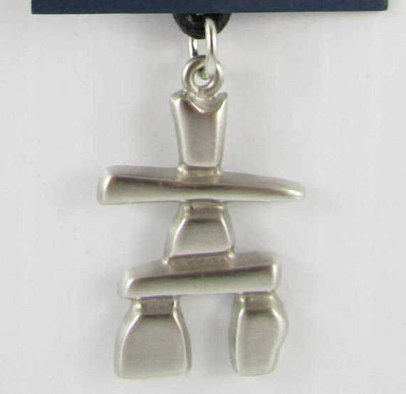 New Inukshuk Canadian Survivor Safe Journey Pewter Etsy