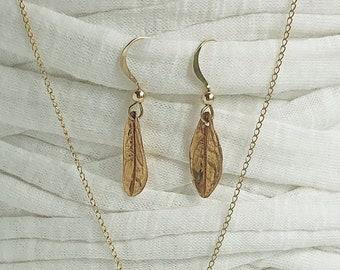 My golden bronze Azalea leaves for women