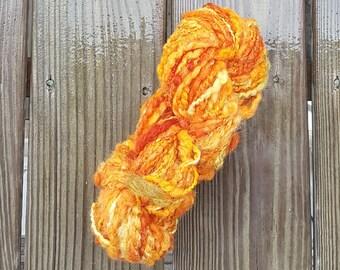 Hand Dyed & Hand Spun Wool Yarn