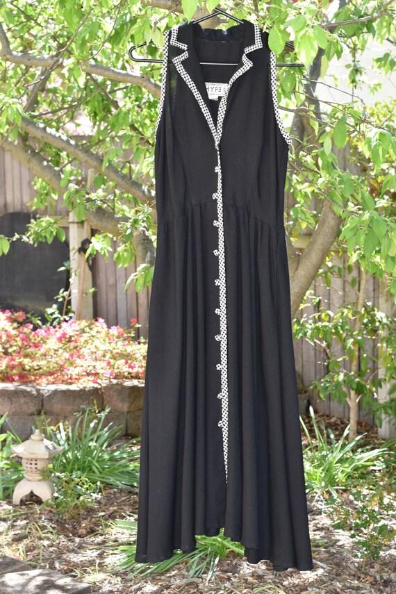 Vintage 1960s Houndstooth Dress || AU 12