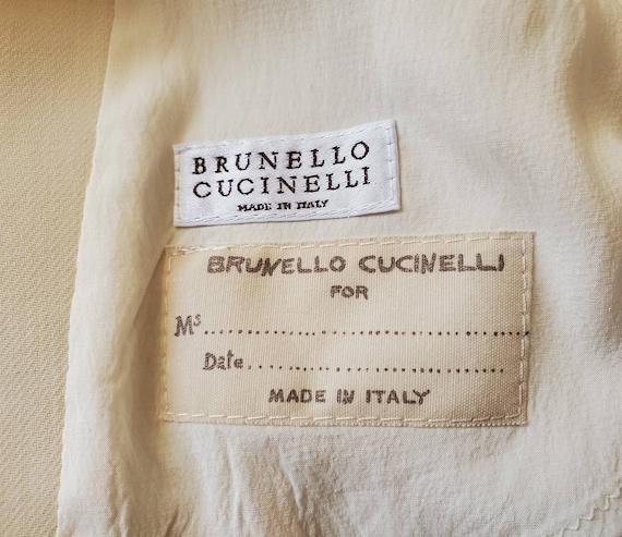 Vintage Brunello Cucinelli Womens Italian Ivory B… - image 6