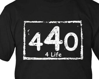 440 4 Life T-Shirt Cleveland Ohio