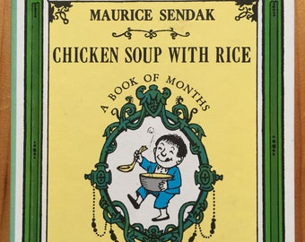 Chicken Soup With Rice, A Book of Months, Maurice Sendak, 1962